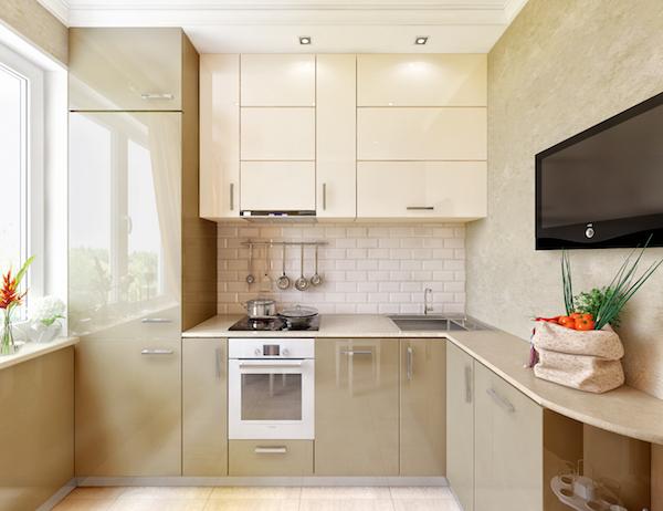 Дизайн кухни 6 м.кв